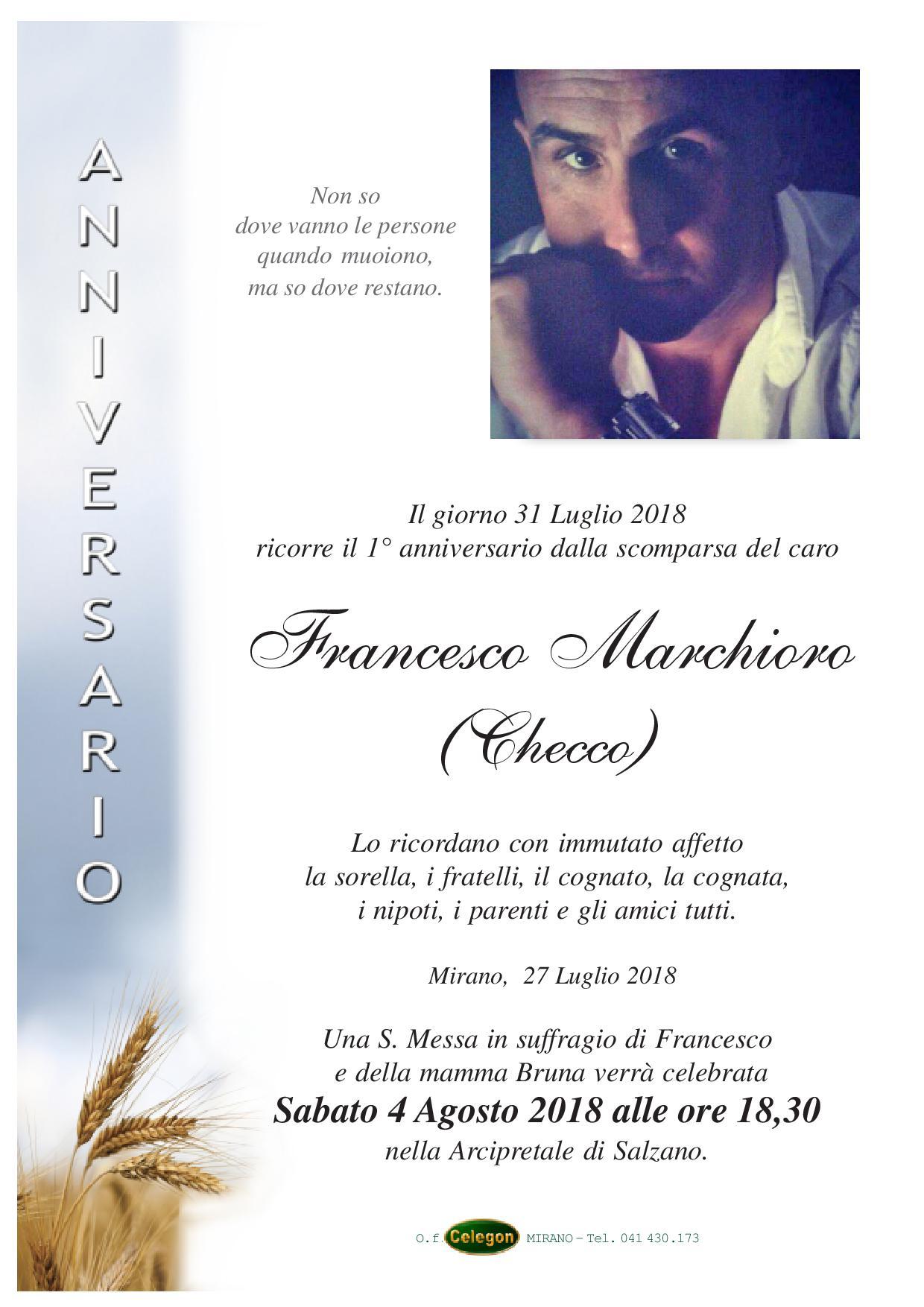 Marchioro Francesco Onoranze Funebri Celegon Mirano